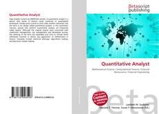 Bookcover of Quantitative Analyst