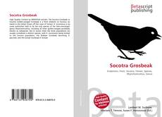 Обложка Socotra Grosbeak