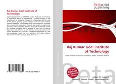 Copertina di Raj Kumar Goel Institute of Technology