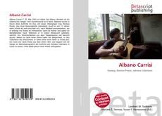 Albano Carrisi kitap kapağı