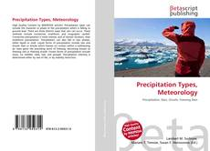 Couverture de Precipitation Types, Meteorology