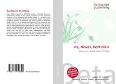 Capa do livro de Raj Niwas, Port Blair