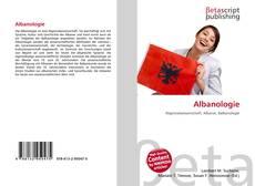 Обложка Albanologie
