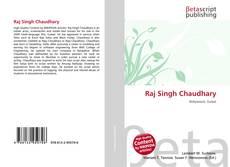 Portada del libro de Raj Singh Chaudhary