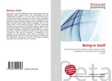 Couverture de Being in Itself