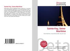 Bookcover of Sainte-Foy, Seine-Maritime