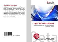 Обложка Ysgol Gyfun Rhydywaun