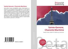 Bookcover of Sainte-Gemme, Charente-Maritime