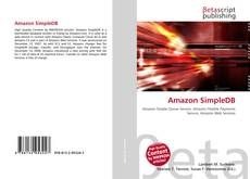 Bookcover of Amazon SimpleDB