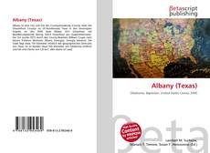 Bookcover of Albany (Texas)