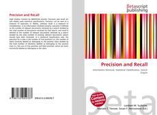 Bookcover of Precision and Recall