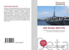 Capa do livro de USS Sinclair (DD-275)
