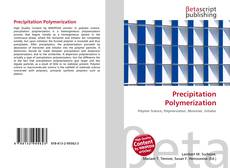 Precipitation Polymerization kitap kapağı