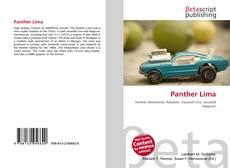 Buchcover von Panther Lima