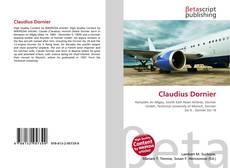 Portada del libro de Claudius Dornier