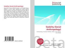 Portada del libro de Sodality (Social Anthropology)