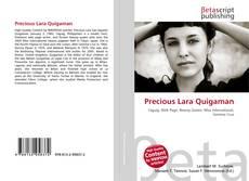 Обложка Precious Lara Quigaman
