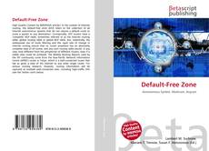 Bookcover of Default-Free Zone