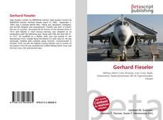 Buchcover von Gerhard Fieseler