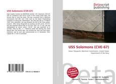 Bookcover of USS Solomons (CVE-67)