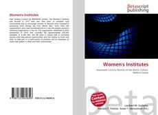 Bookcover of Women's Institutes