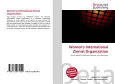 Bookcover of Women's International Zionist Organization