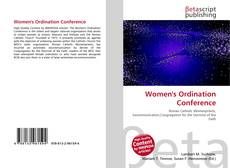 Women's Ordination Conference的封面