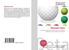 Bookcover of Riemann Sum