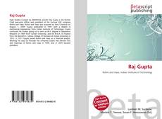 Bookcover of Raj Gupta