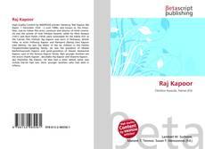 Capa do livro de Raj Kapoor