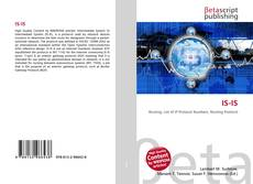 IS-IS kitap kapağı
