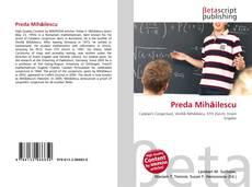 Preda Mihăilescu的封面
