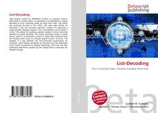 Bookcover of List-Decoding