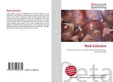 Portada del libro de Rod Calculus