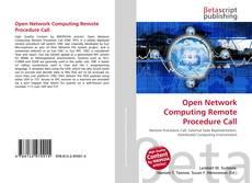 Open Network Computing Remote Procedure Call的封面