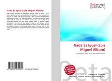 Обложка Nada Es Igual (Luis Miguel Album)