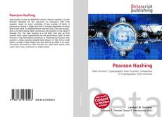 Bookcover of Pearson Hashing
