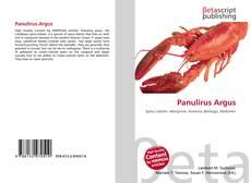Bookcover of Panulirus Argus