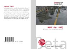 Bookcover of HMS Isis (1819)