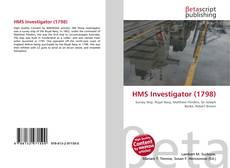 Bookcover of HMS Investigator (1798)