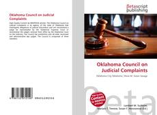 Bookcover of Oklahoma Council on Judicial Complaints