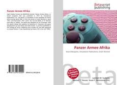 Panzer Armee Afrika kitap kapağı