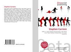Buchcover von Stephen Carriere