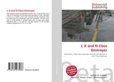Portada del libro de J, K and N Class Destroyer