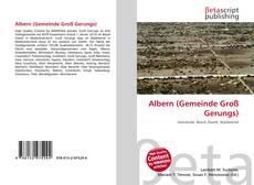 Capa do livro de Albern (Gemeinde Groß Gerungs)