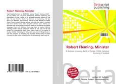 Portada del libro de Robert Fleming, Minister
