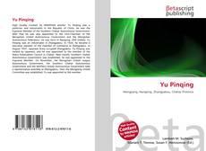 Capa do livro de Yu Pinqing