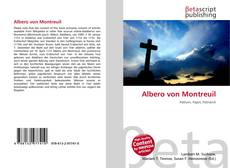 Capa do livro de Albero von Montreuil