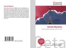 Portada del libro de Sainte-Maxime