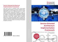 Capa do livro de Service-Oriented Architecture Implementation Framework
